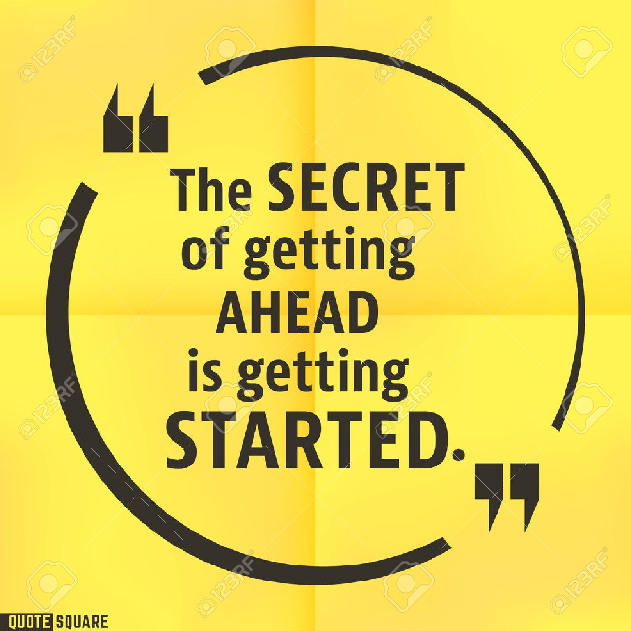 The Secret Quotes Quote Motivational Square Templateinspirational Quotes Bubble