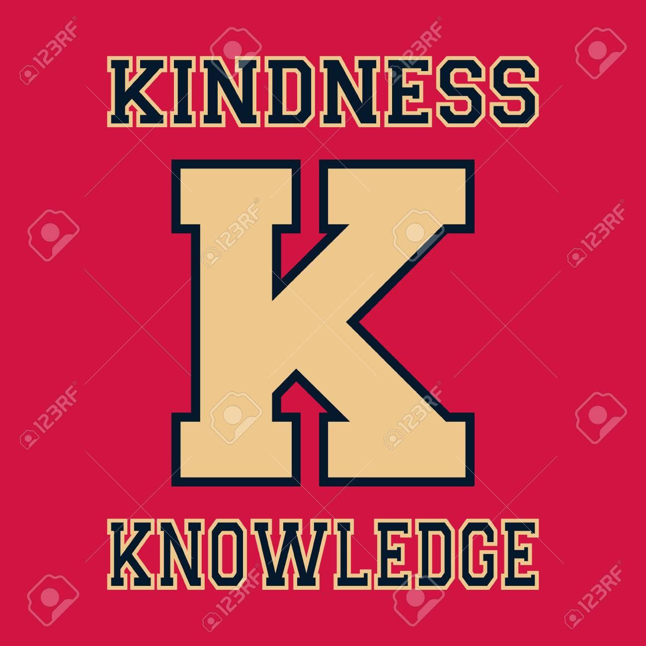 Plantilla Alfabeto Fuente. Letra K. Diseño De La Camiseta De ...