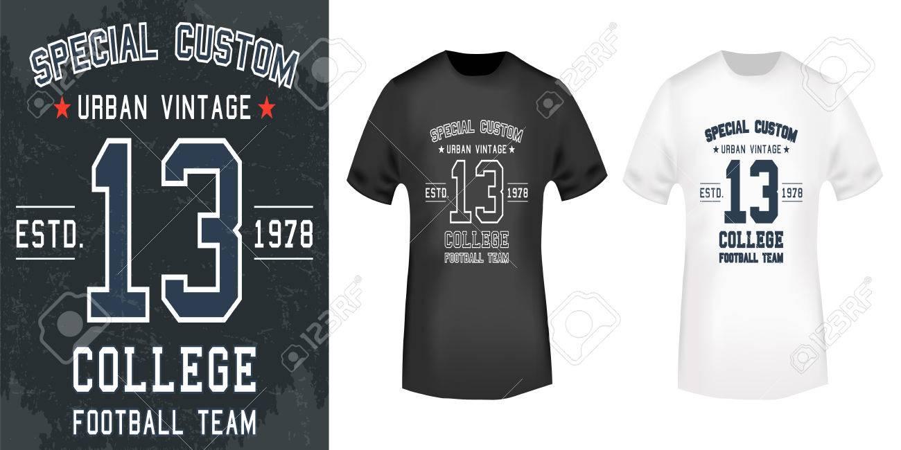 909810077 T-shirt print design. 13 Vintage stamp and t shirt mockup . Printing and