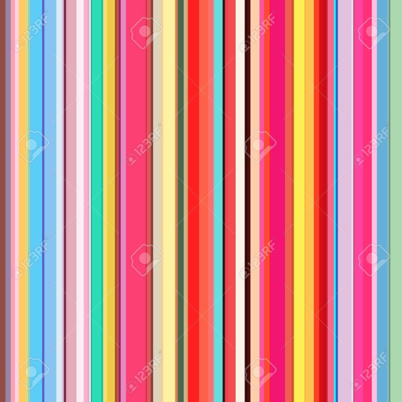 Color lines background  Colorful stripes designed for magazine,
