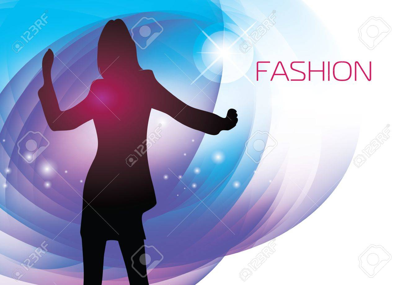 fashion girl Stock Vector - 17922497