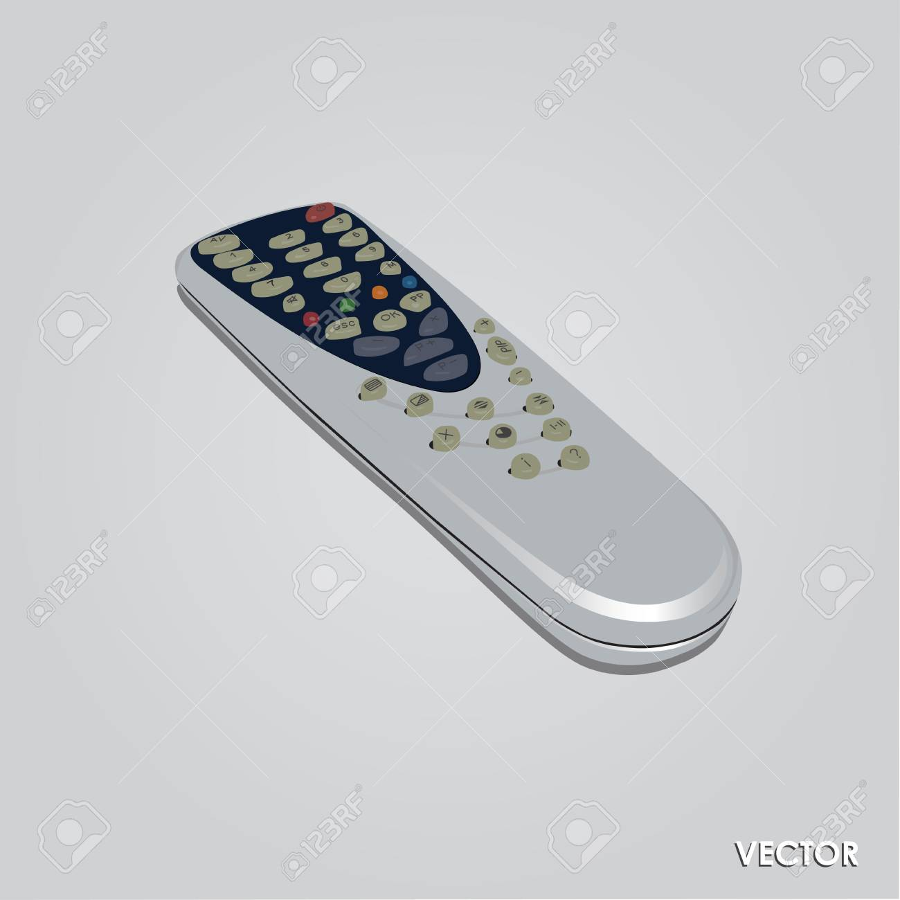 Tv Remote Control Clipart All About Kedsumr Wireless 1 Way On Off Digital Switch 110v For Source Illustration Of Isolated Gray Background