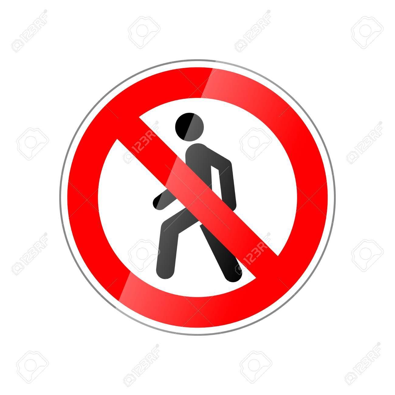 ab2e1ba4e54bd7 Ga niet binnen, verboden rood glanzend teken dat op wit wordt geïsoleerd  Stockfoto - 89505337