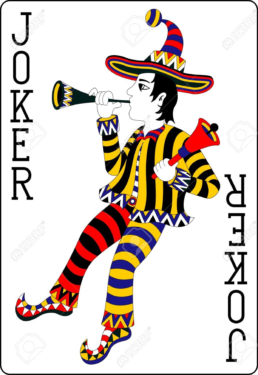 Playing Card Joker 62x90 Mm Royalty Free Cliparts, Vectors, And ...