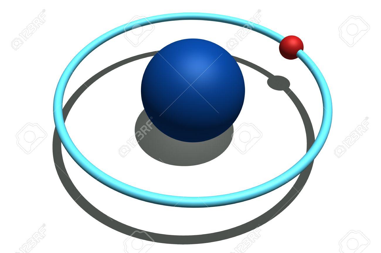 Модель атома водорода фото