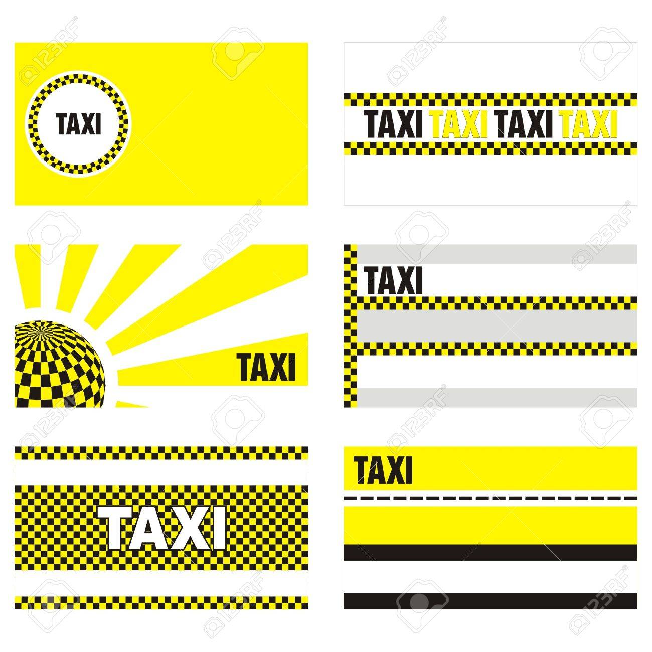 Taxi business cards 90 x 50 mm royalty free cliparts vectors and taxi business cards 90 x 50 mm stock vector 9862111 reheart Choice Image