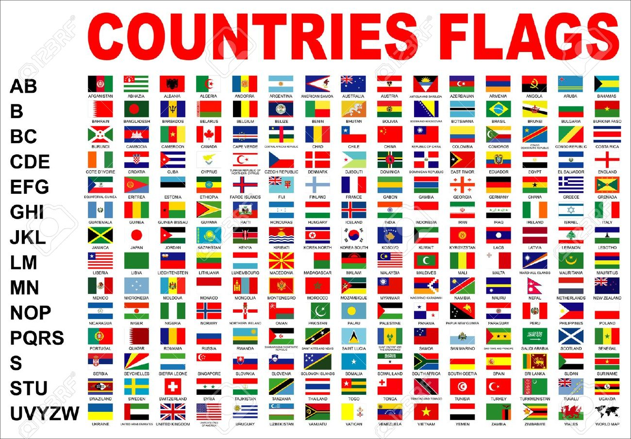 countries flags stock photo picture and royalty free image image