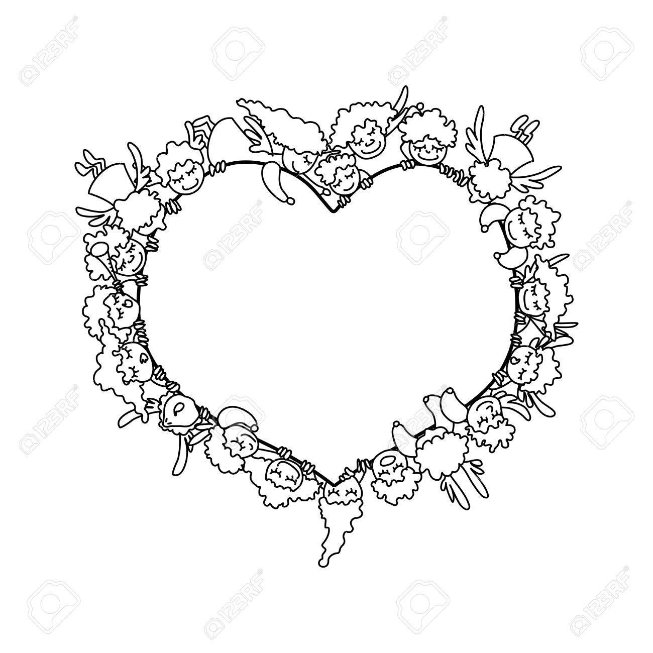 Gemütlich Valentinstag Herz Malvorlagen Bilder - Malvorlagen Von ...