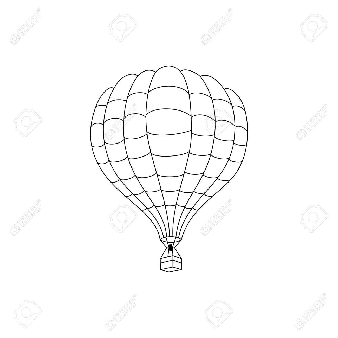 Atemberaubend Heißluftballon Farbseite Zeitgenössisch - Malvorlagen ...