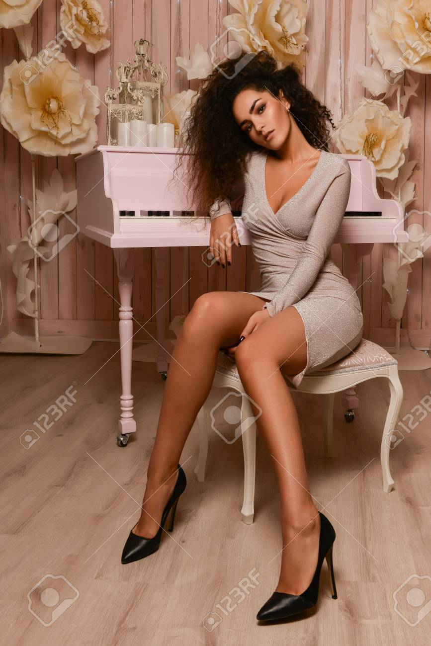 Long legs and high heels