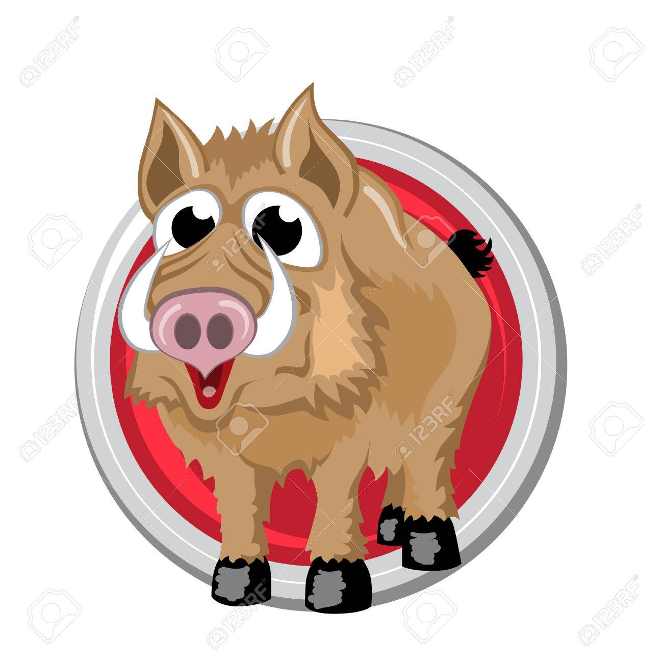 Boar orient horoscope sign isolated in circle chinese symbols boar orient horoscope sign isolated in circle chinese symbols zodiac stock photo biocorpaavc Gallery