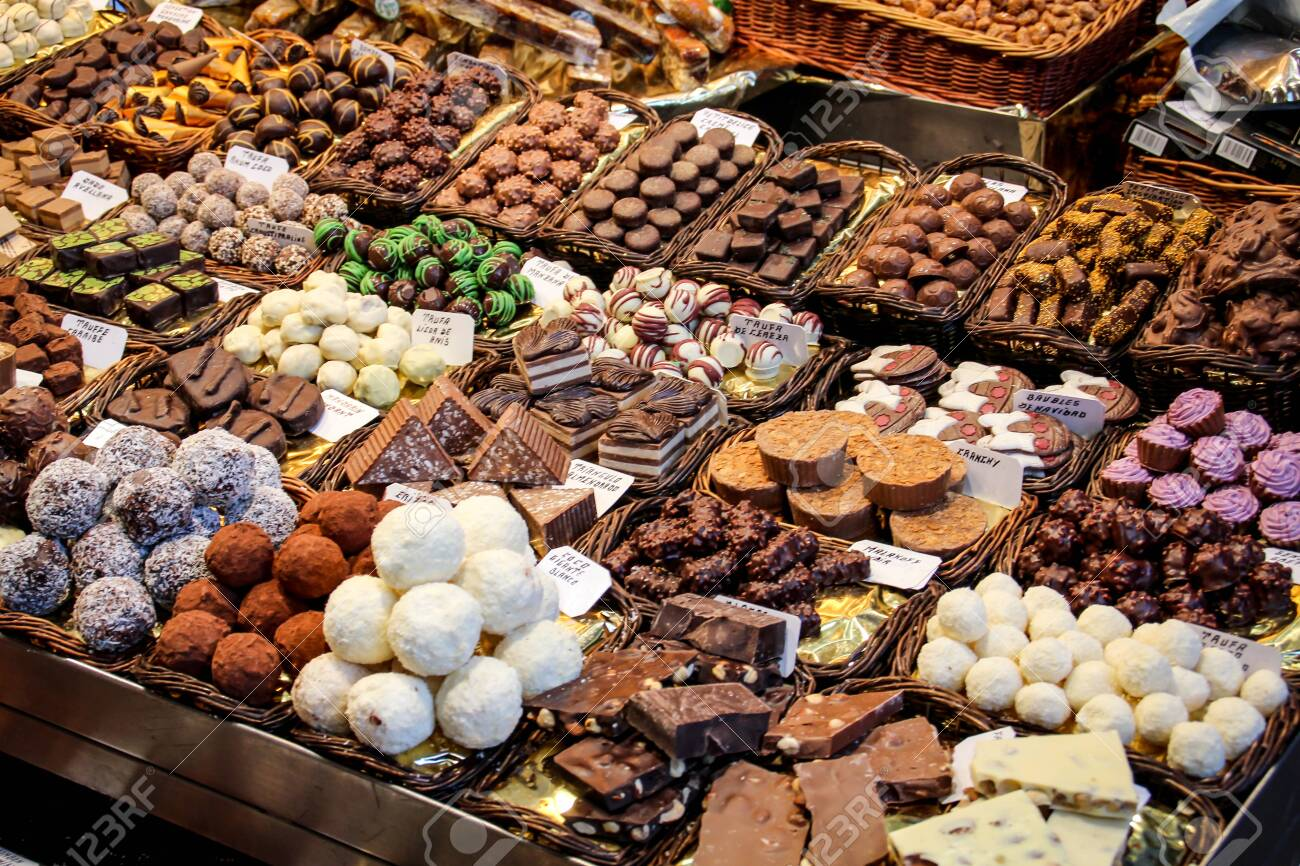 chocolates in the market - 120964157