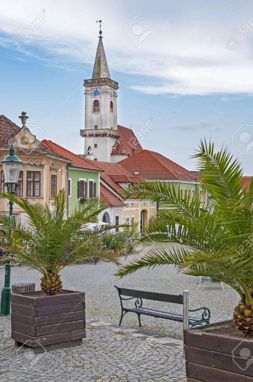 Rust neusiedlersee  Stadt Rust Im Burgenland, Österreich Von Neusiedler See Lizenzfreie ...