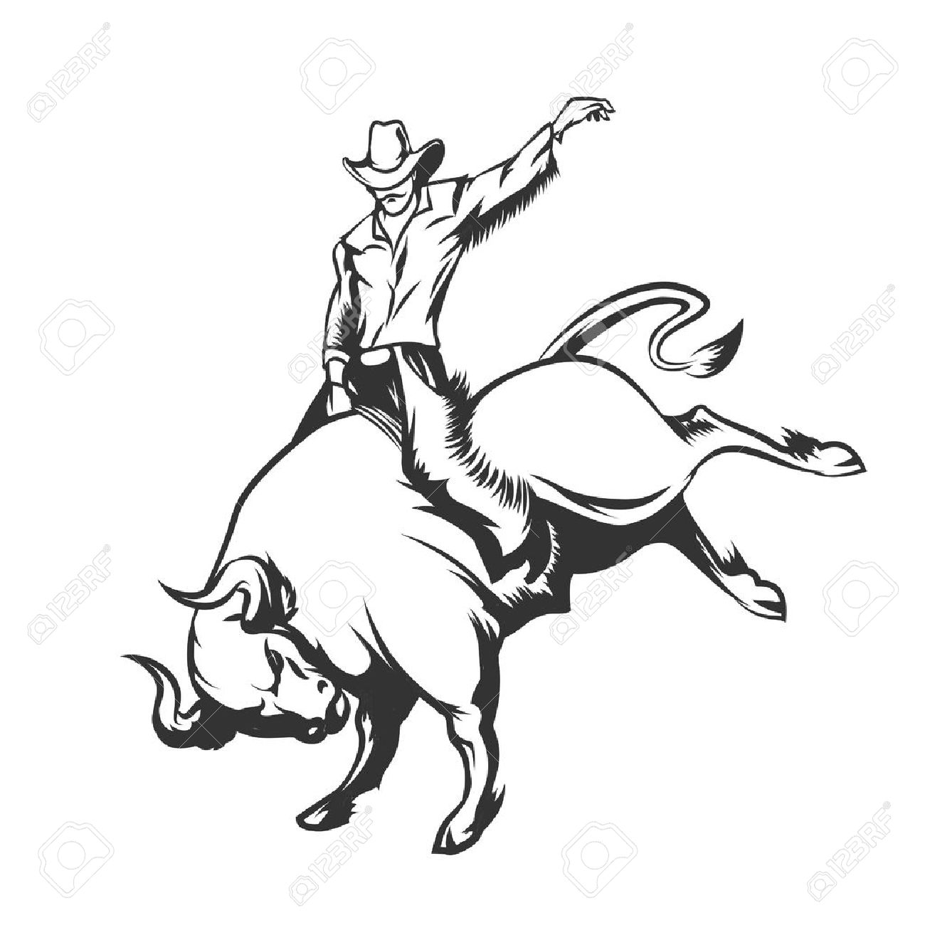 375 bull riding cliparts stock vector and royalty free bull riding rh 123rf com bull rider clip art Rodeo Clip Art