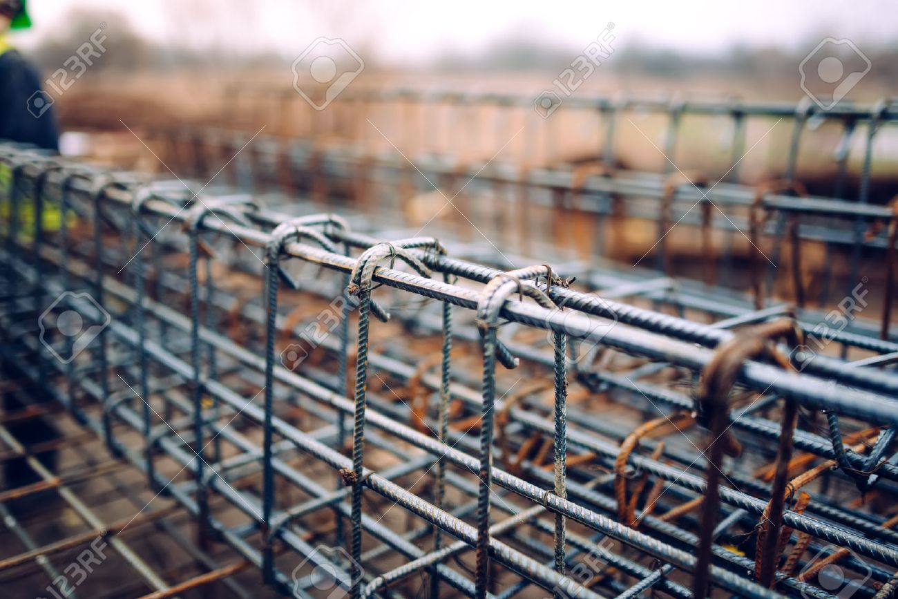 Rebar Steel Bars, Reinforcement Concrete Bars With Wire Rod Used ...