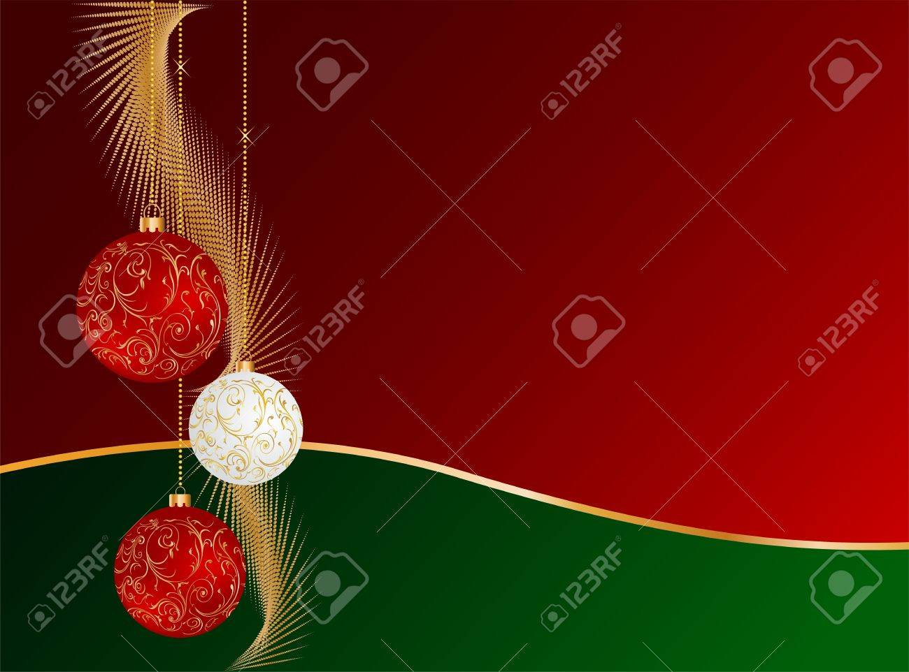 Christmas decorations design Stock Vector - 16449747