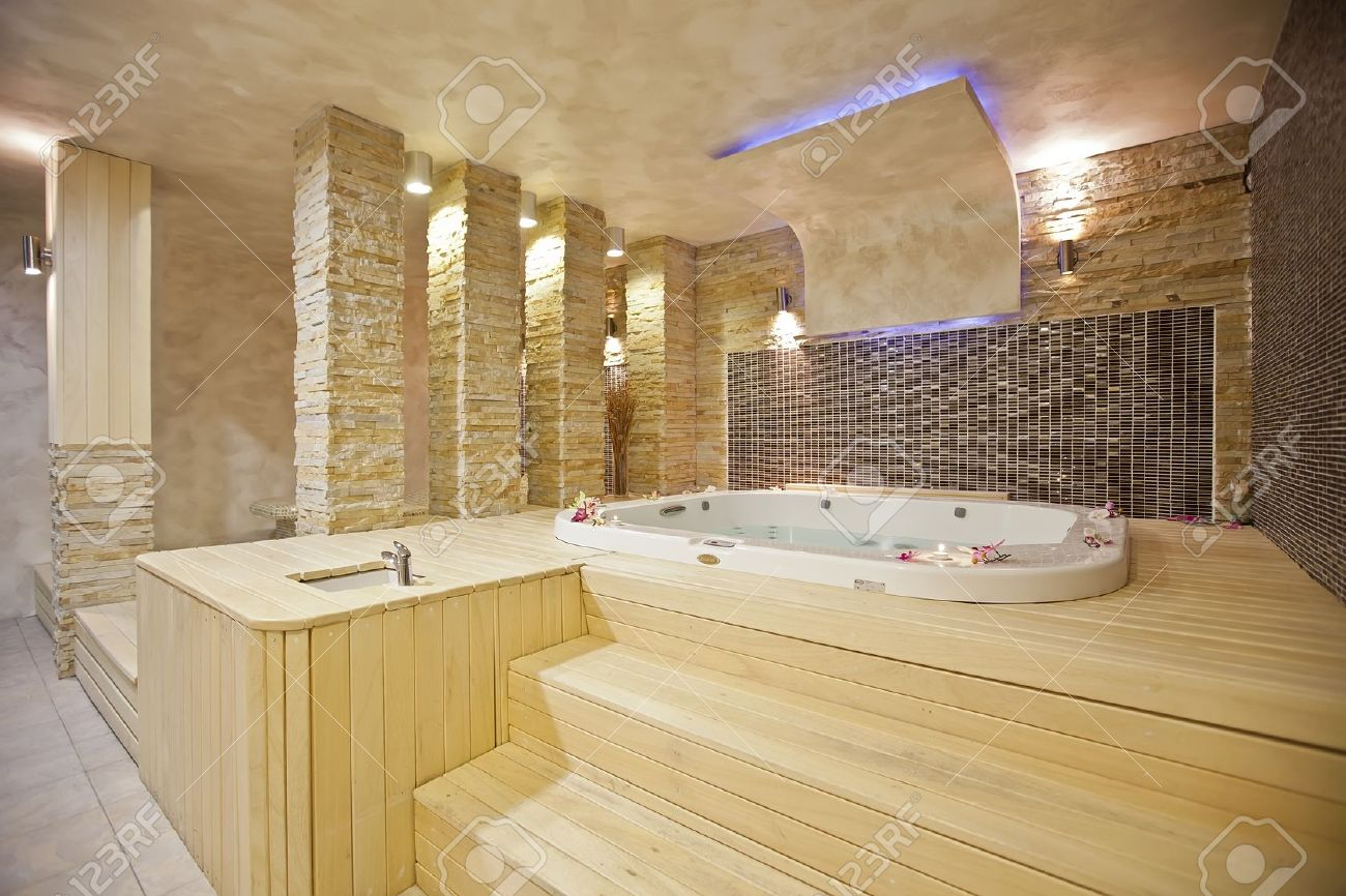 Hot Tub Stock Photo, Picture And Royalty Free Image. Image 16270359.