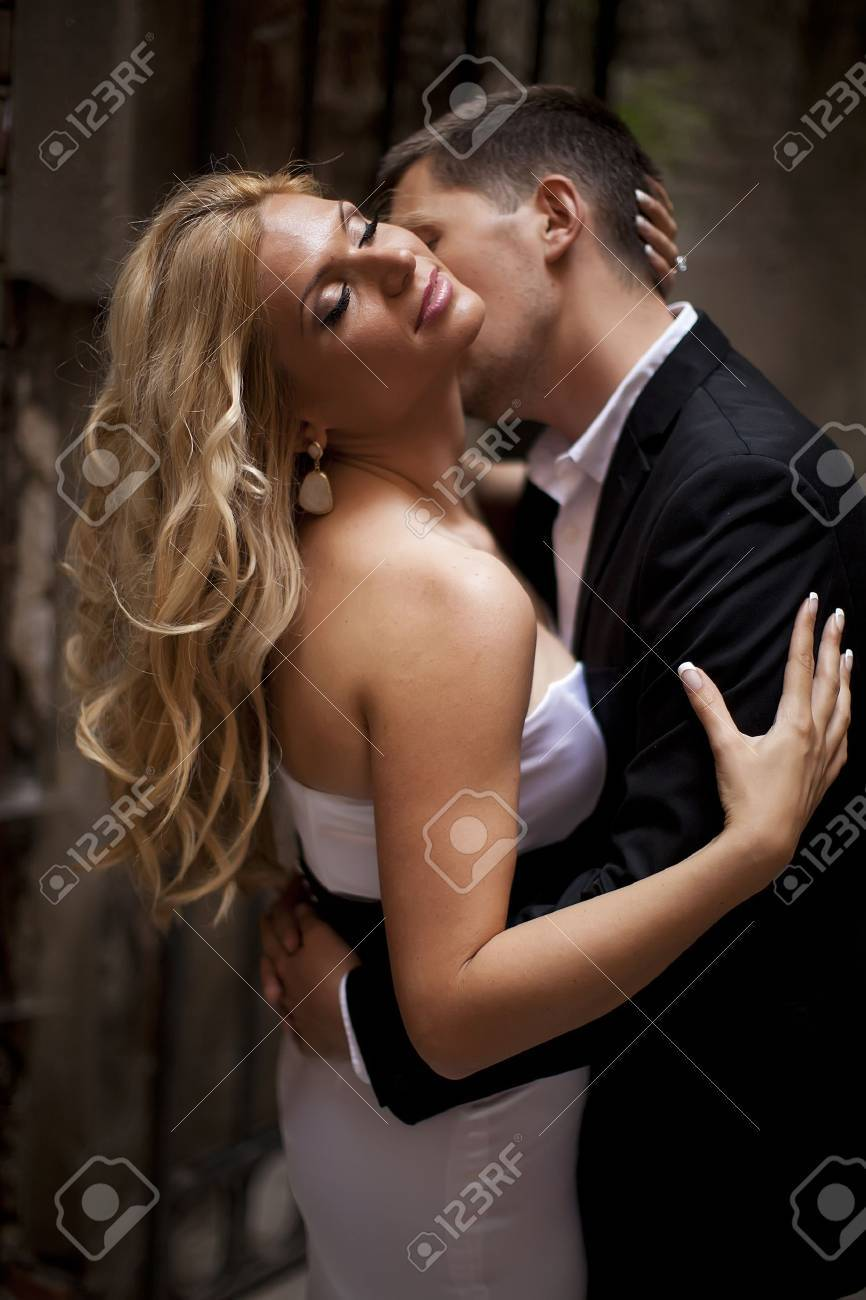 Young couple in love Stock Photo - 16335208