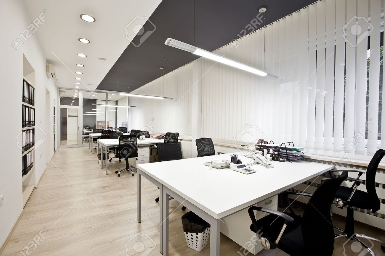 Interior of the modern office Stock Photo - 17060973