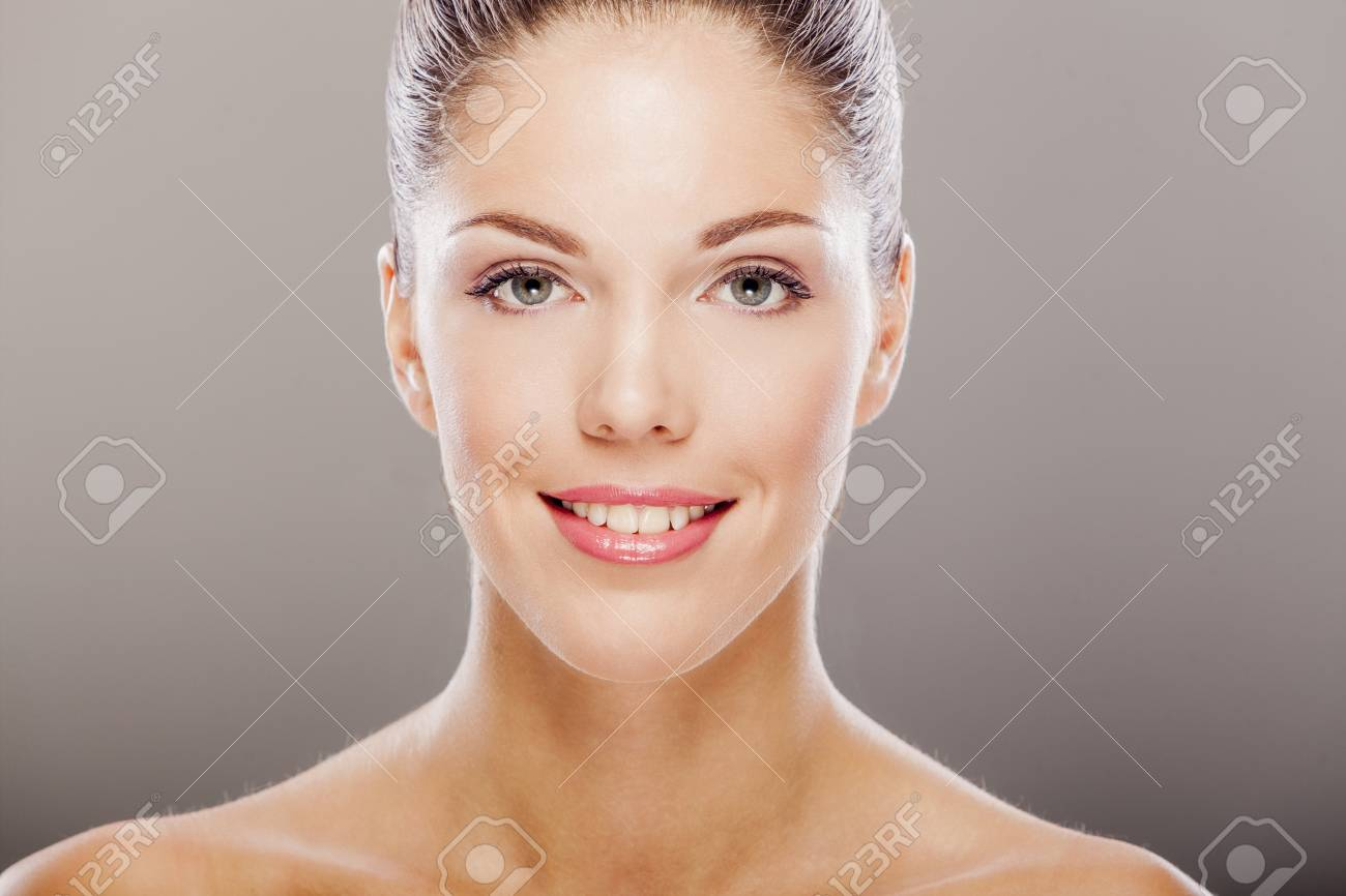 Portrait of the pretty young woman Stock Photo - 17281088