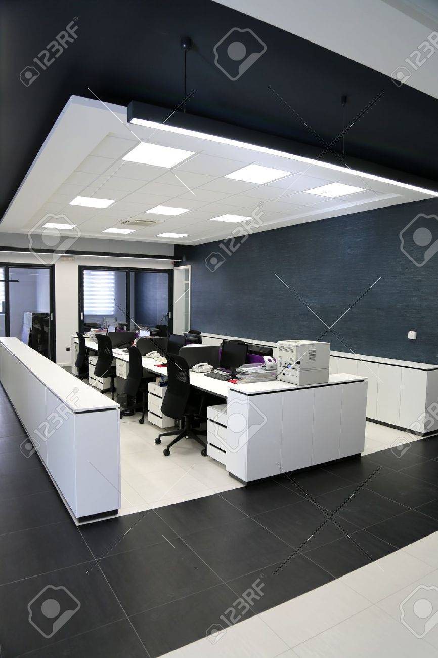 Interior of the modern office Stock Photo - 19535034
