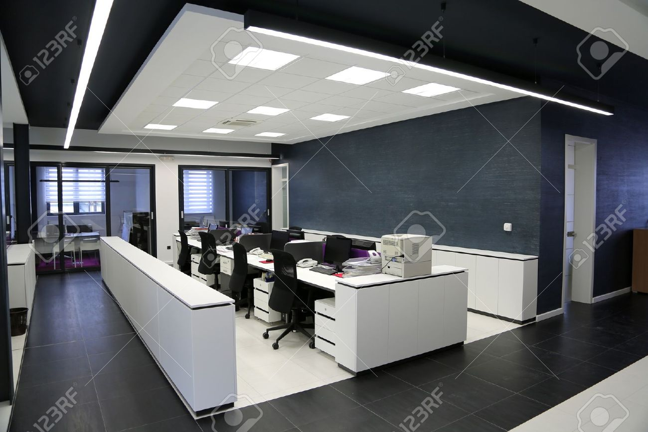 modern office ceiling. Interior Of The Modern Office Stock Photo - 20298600 Ceiling M