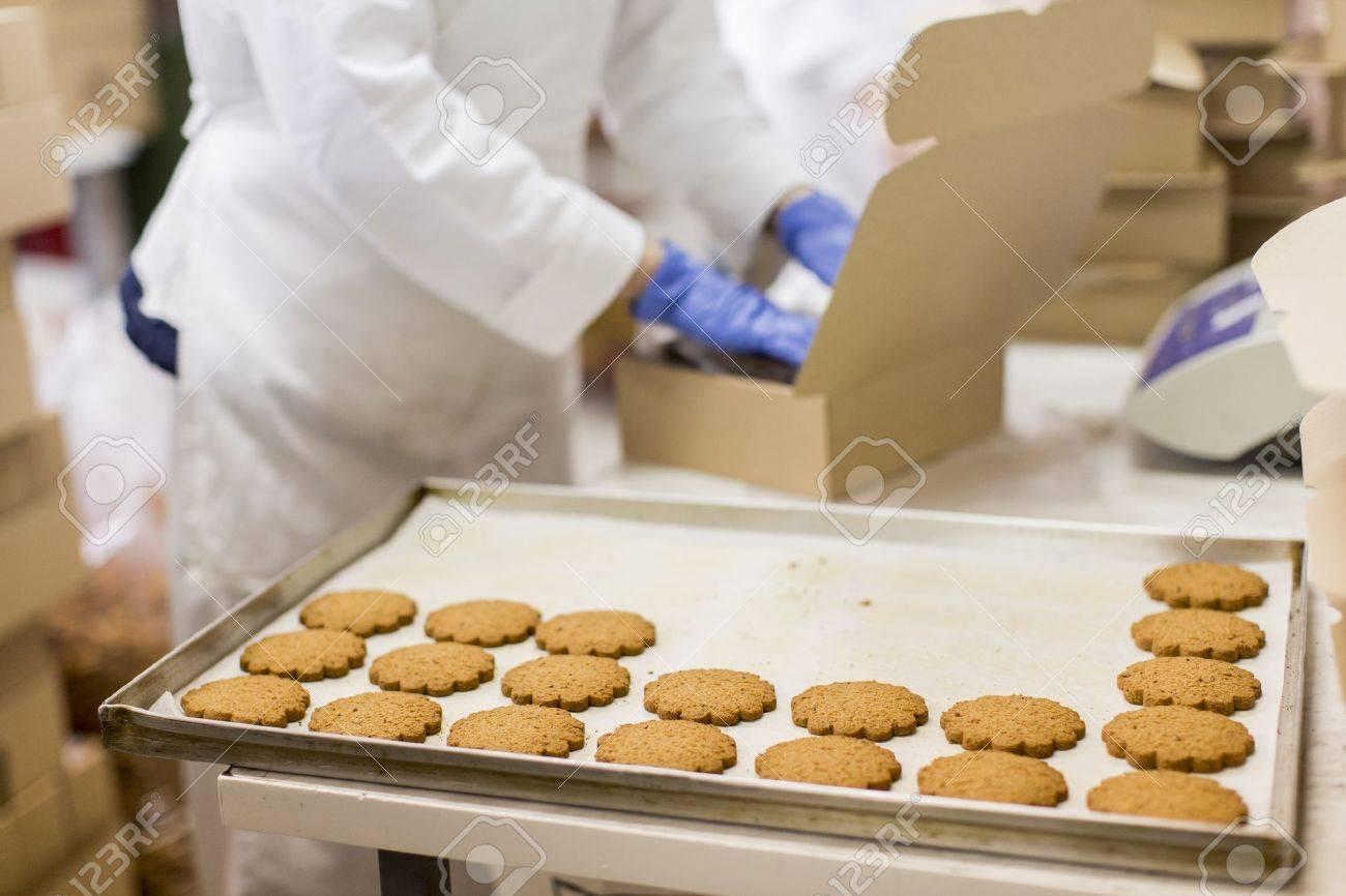 Cookies factory Stock Photo - 20153898