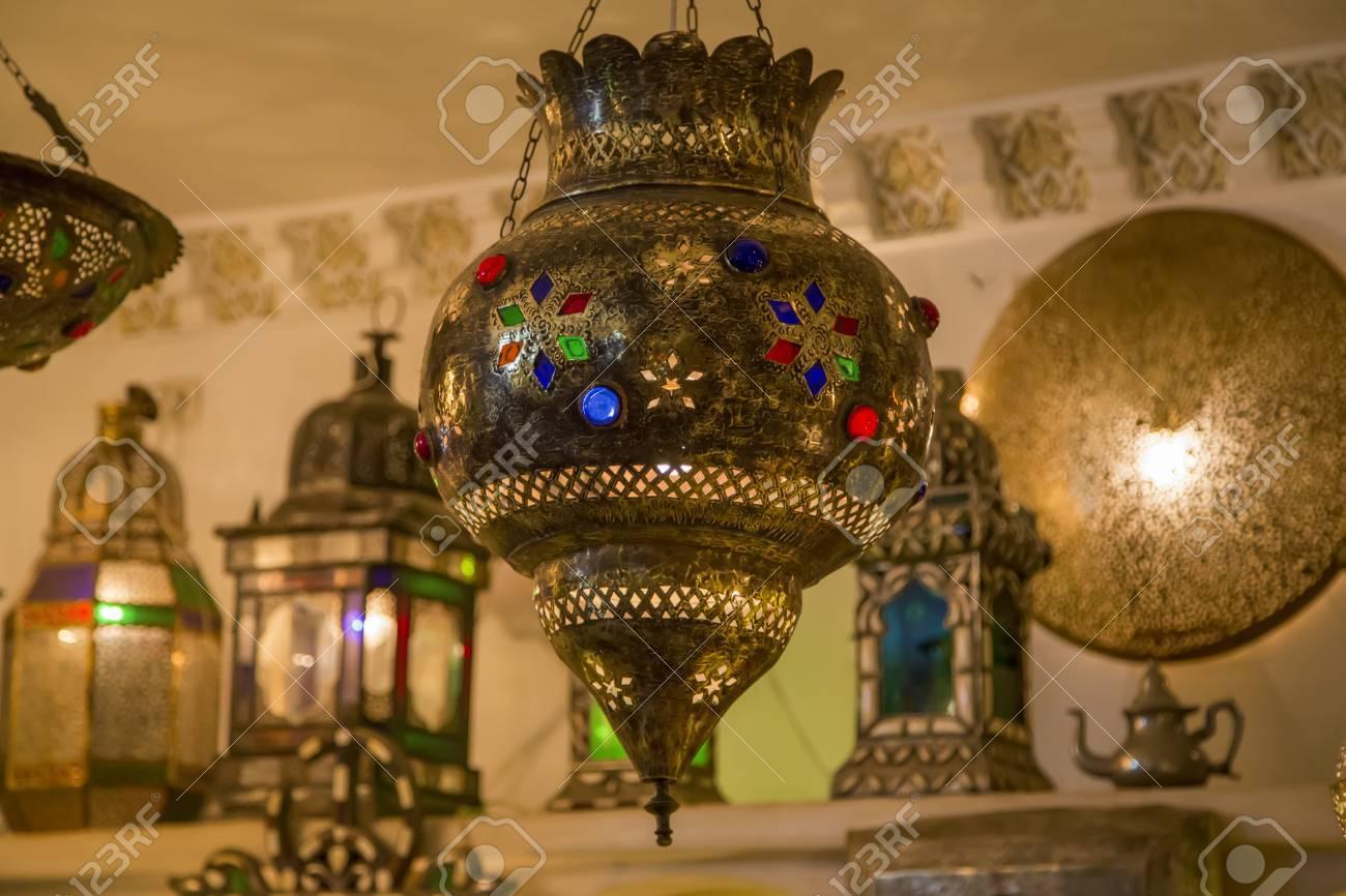 orientales el Marrakech Lámparas mercado en de Nnwyvm0O8