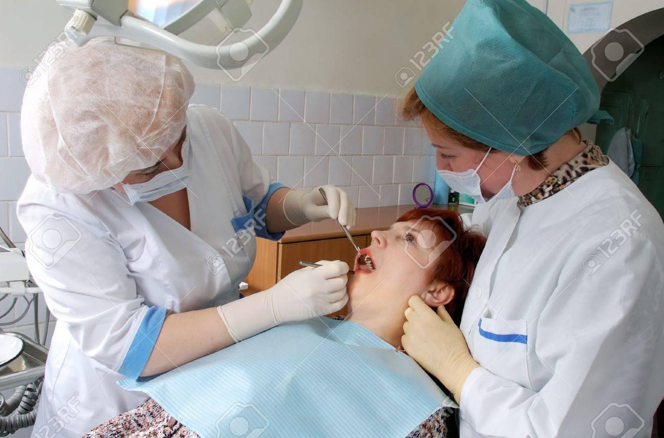 Dentist Medical Doctor Doctor And Nurse Make Medical