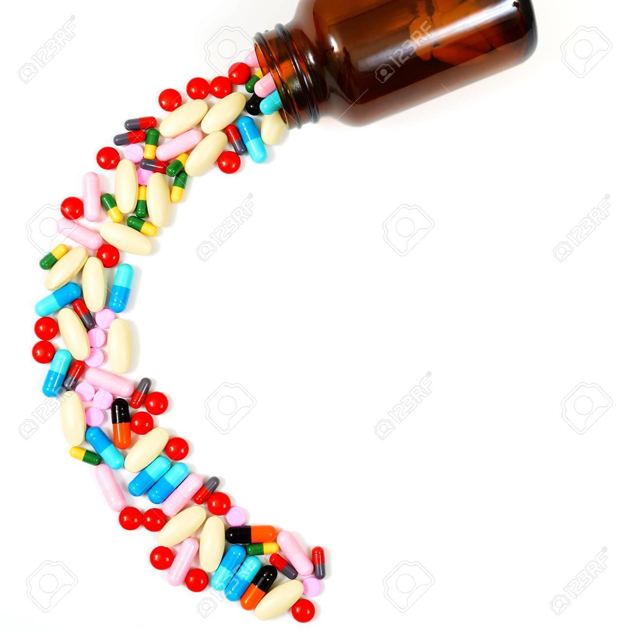 Assorted pills Stock Photo - 22186462