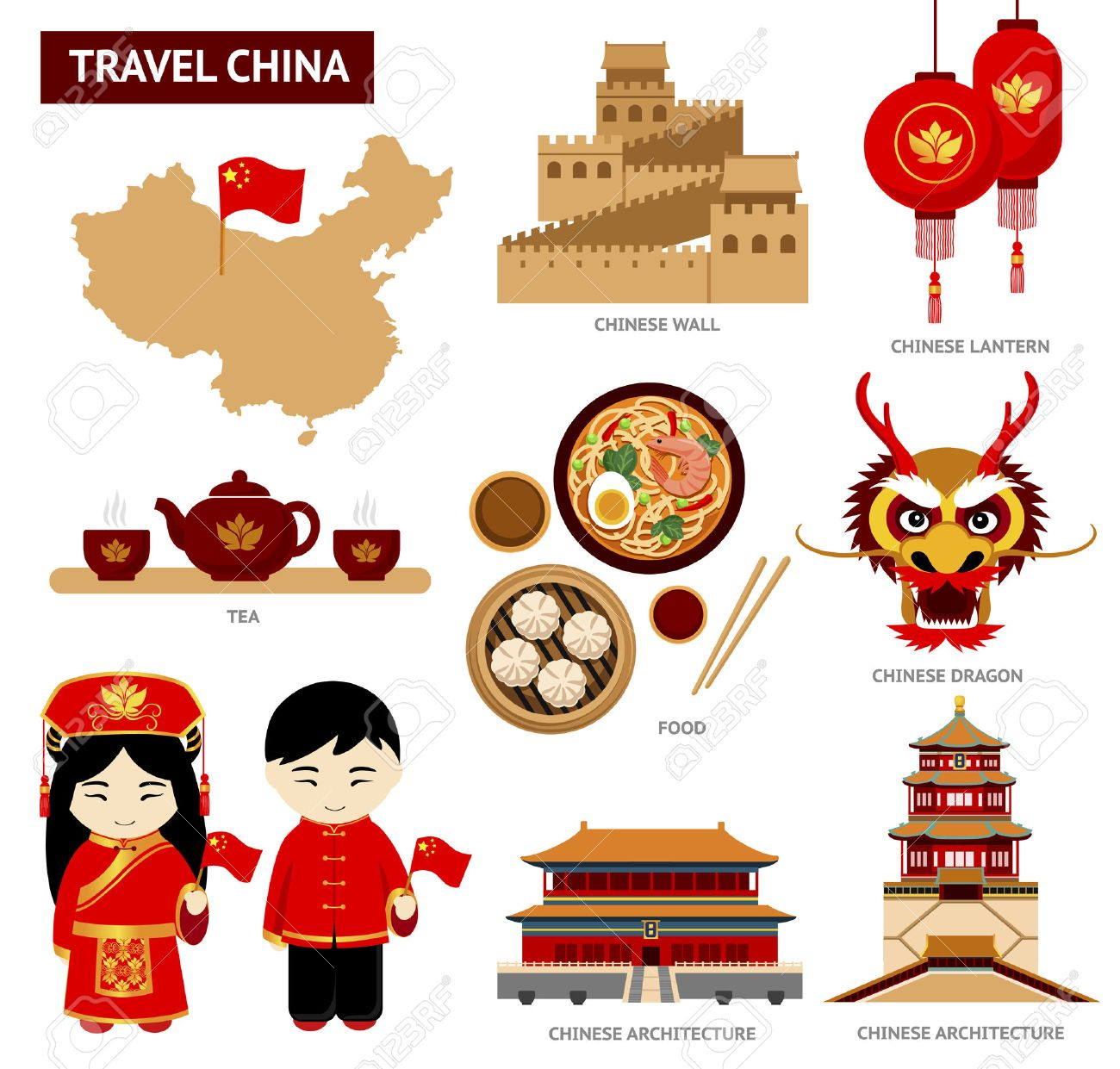 25329 Chinese Food Stock Vector Illustration And Royalty Free