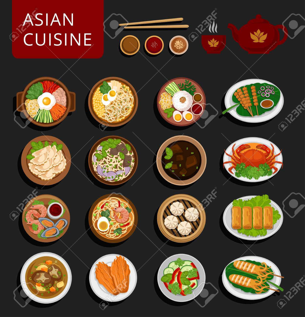 chinese vs japanese food