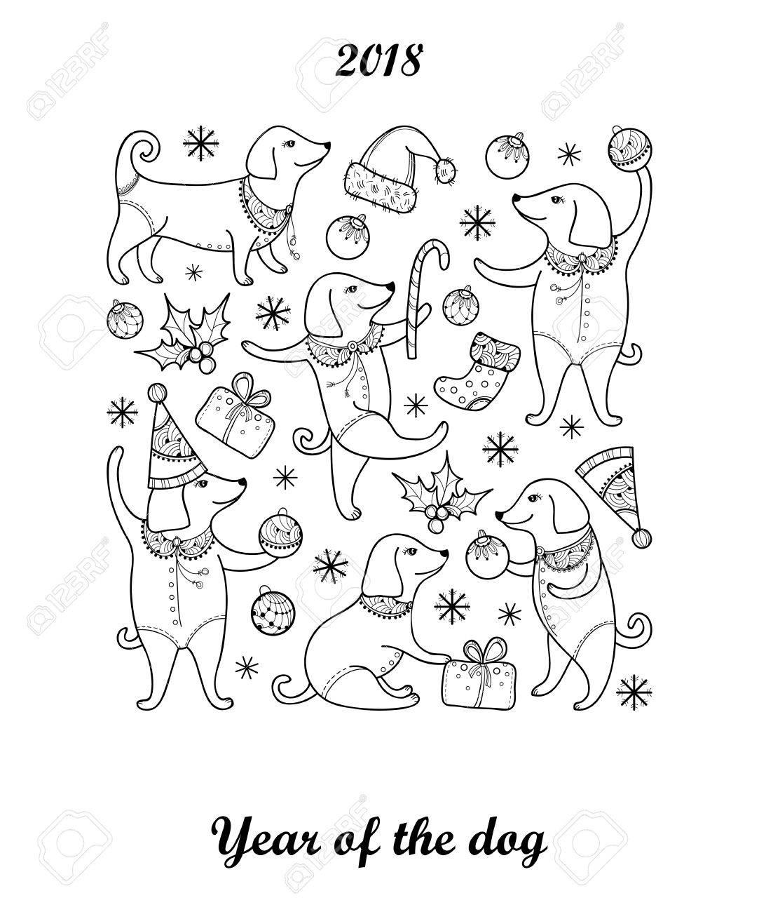 Bonito Año Nuevo Chino Para Colorear Friso - Ideas Para Colorear ...