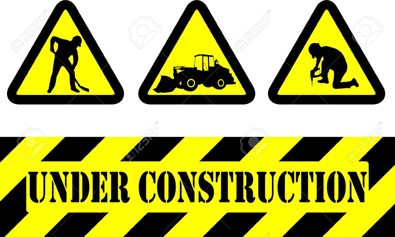 under construction signs Under Construction Signs