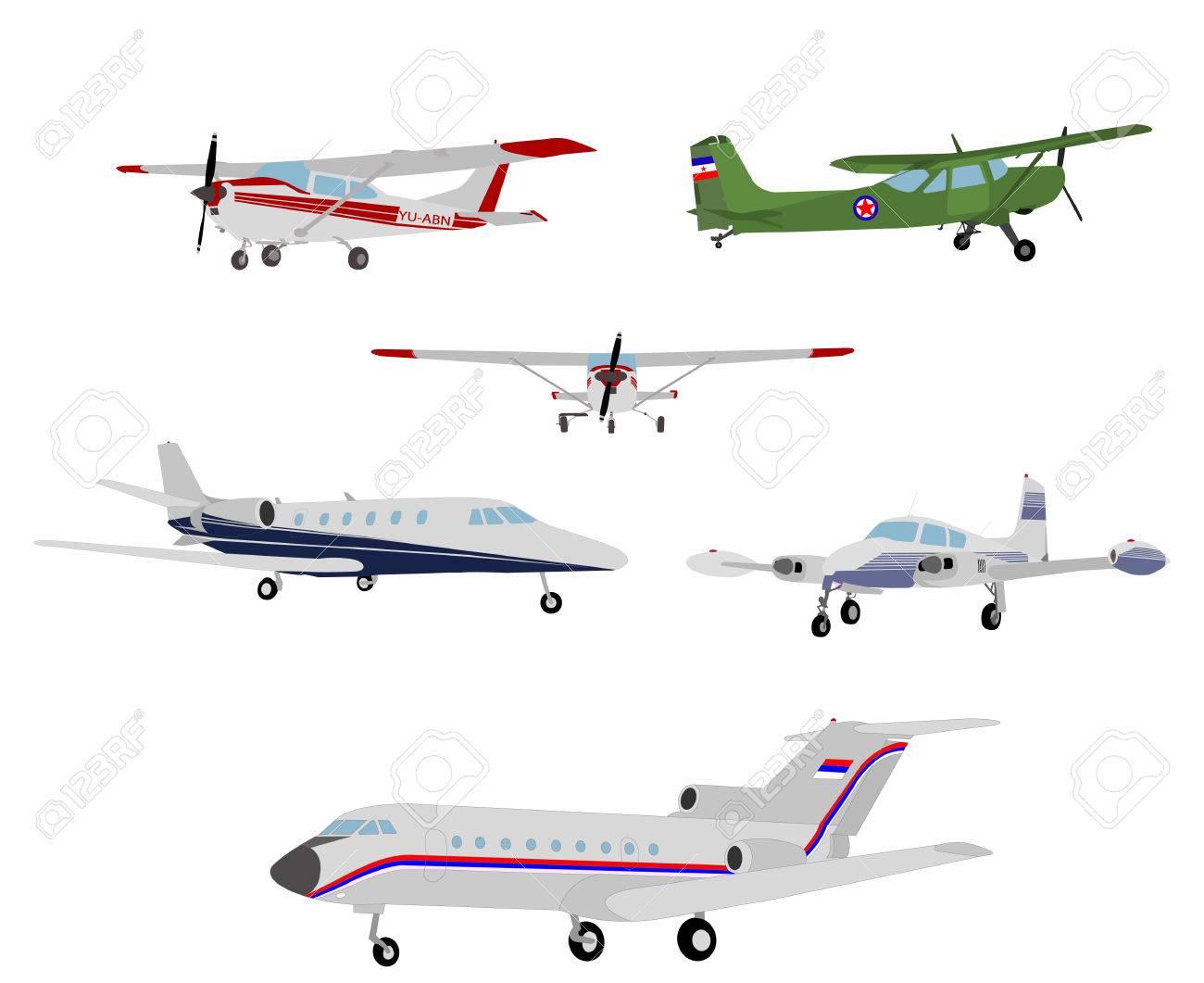 airplanes illustration - vector - 32611601