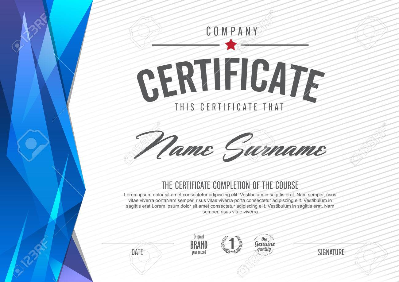 Certificate template with clean and modern patternvector certificate template with clean and modern patternvector illustration stock vector 46178031 yadclub Image collections
