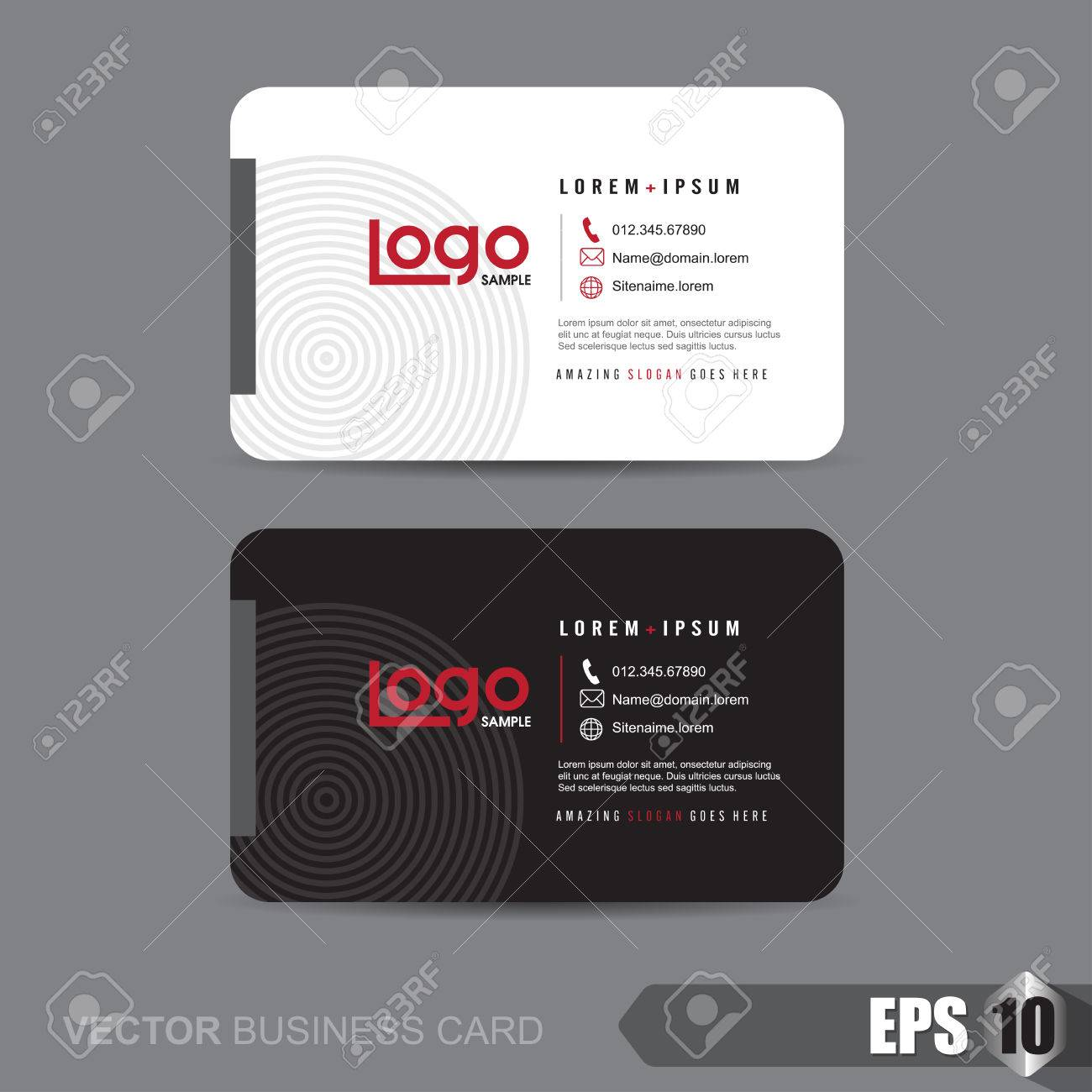 Business card templatevector illustration royalty free cliparts business card templatevector illustration stock vector 46178892 reheart Gallery