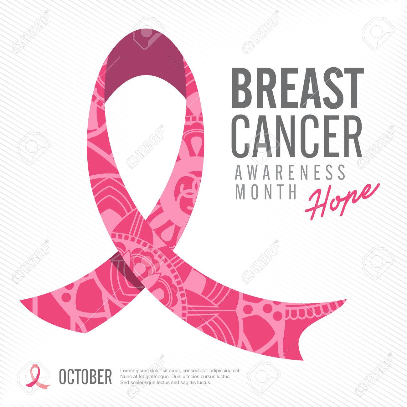 breast cancer awareness pink ribbon background vector illustration rh 123rf com breast cancer vector free download breast cancer vector image