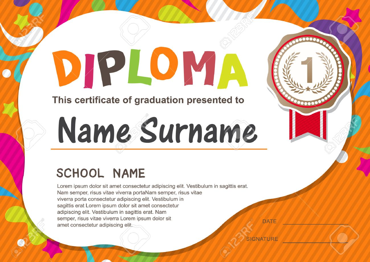 Preschool diploma templates northurthwall preschool diploma templates 1betcityfo Gallery