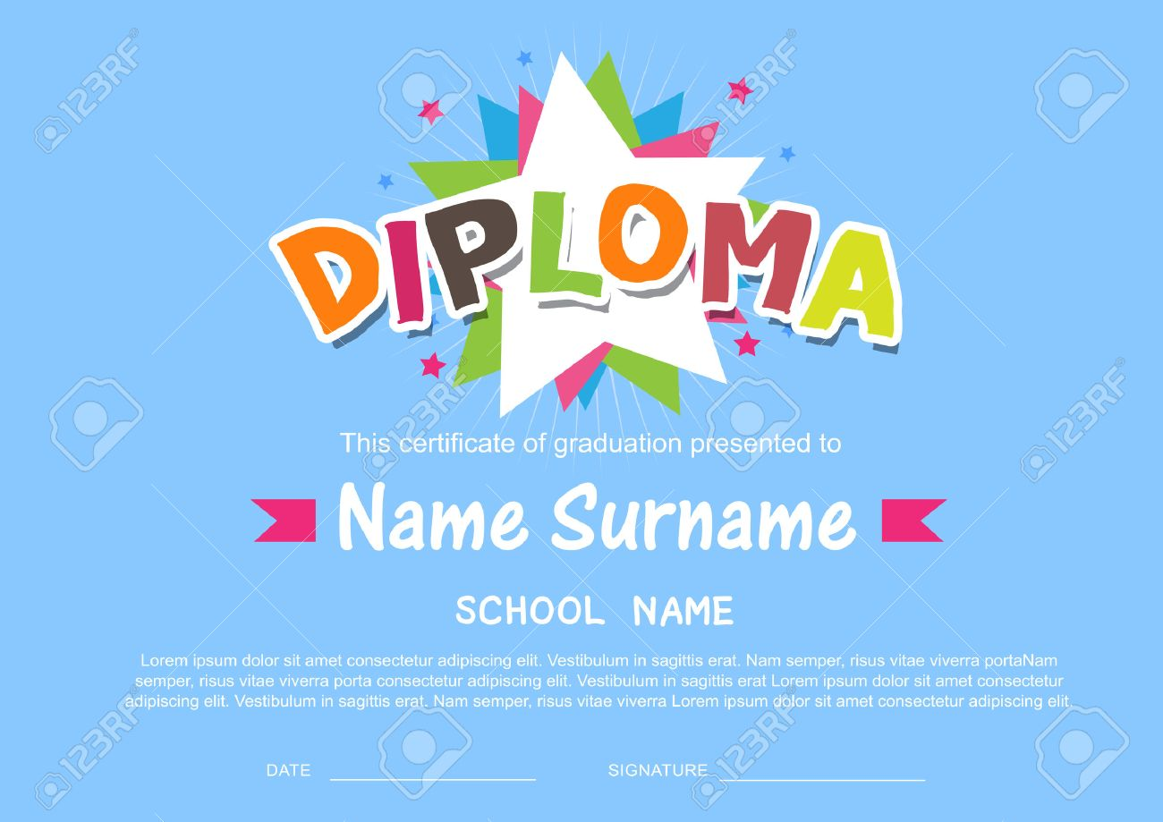 Preschool certificate templates images templates example free business certificate templates kids certificate example mba resume business certificate templates kids certificate business objects 49032230 yadclub Image collections