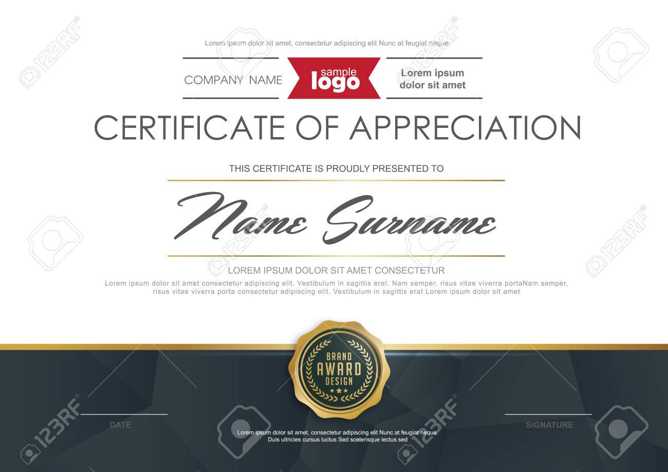Certificate template with clean and modern patternluxury golden certificate template with clean and modern patternluxury goldenqualification certificate blank template with xflitez Image collections