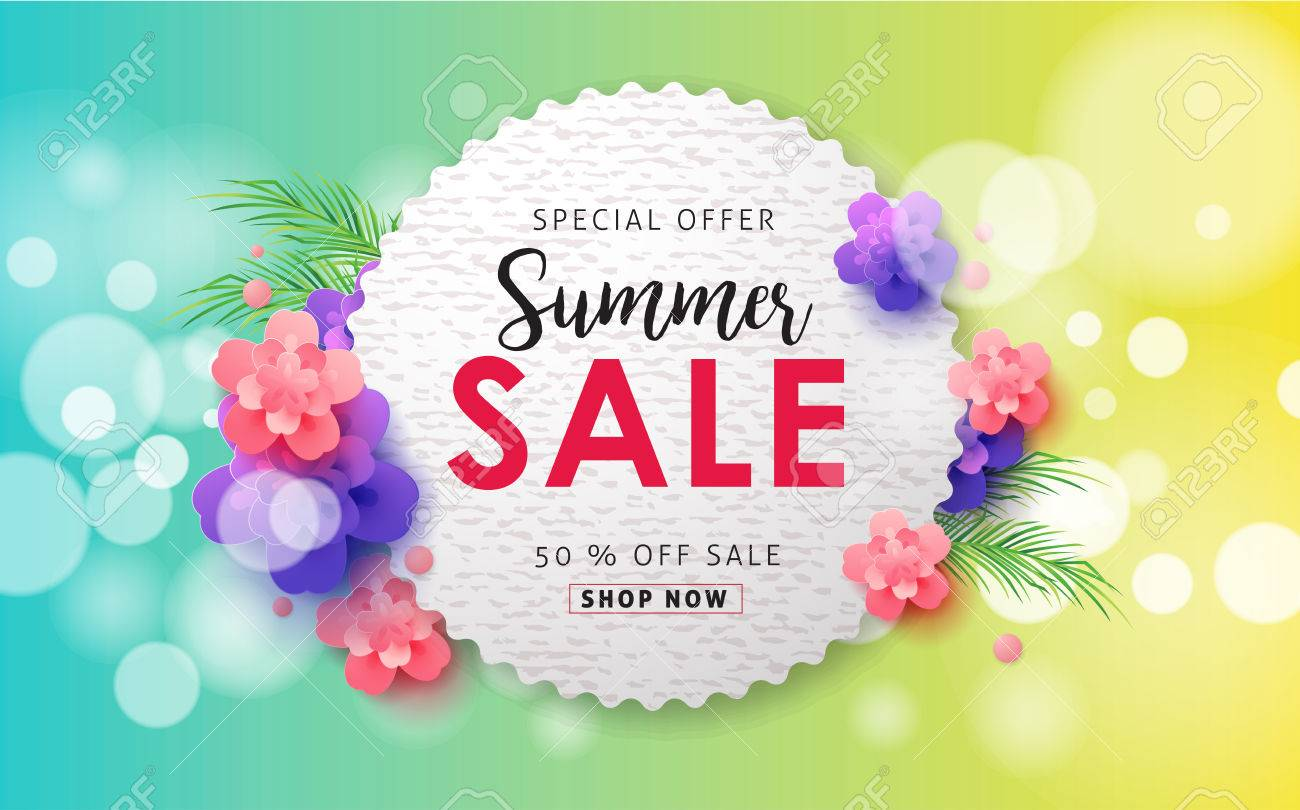 Summer sale background layout for bannerswallpaperflyers summer sale background layout for bannerswallpaperflyers invitation posters brochure stopboris Images