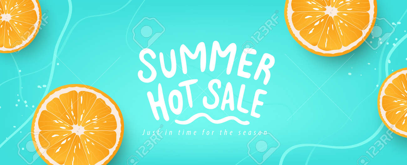 Colorful Summer background layout banners design. Horizontal poster, greeting card, header for website - 171682777