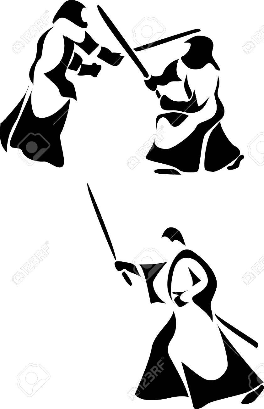 824 Kendo Stock Vector Illustration And Royalty Free Kendo Clipart