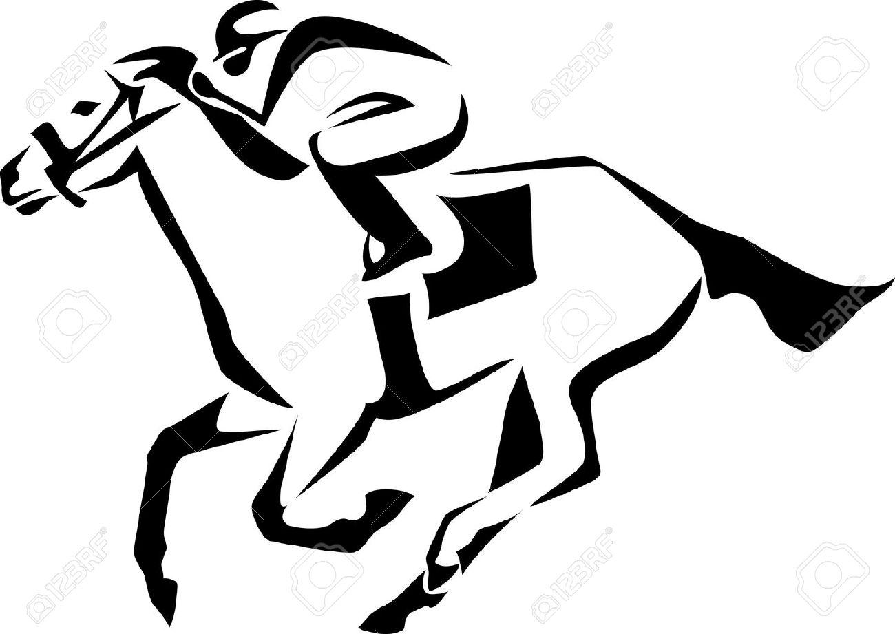 Horse Jockey Logo Horse Race Logo Jockey