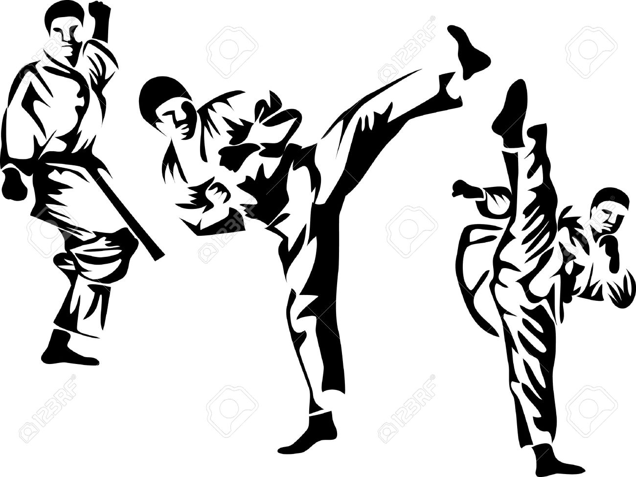 karate pose logo royalty free cliparts vectors and stock rh 123rf com karate logo png karate logo pictures