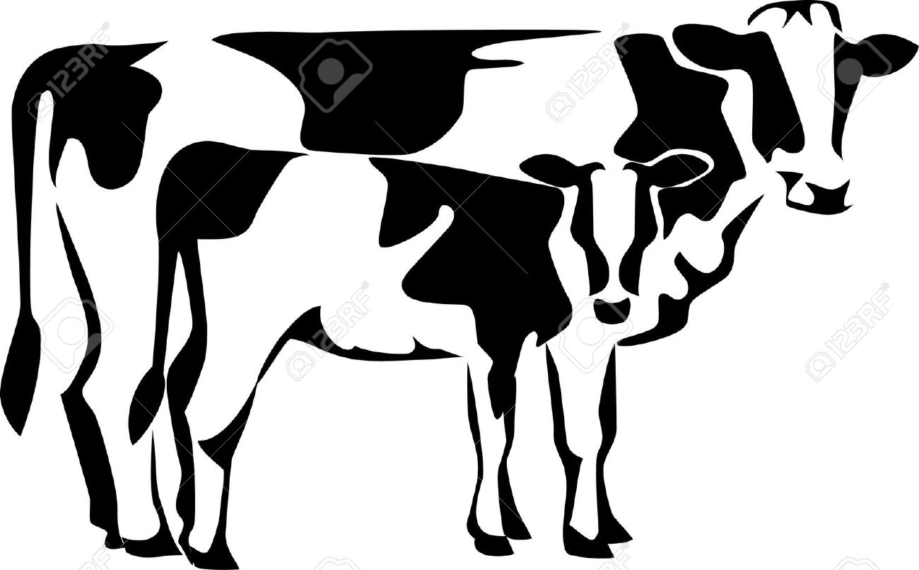 cow with calf logo royalty free cliparts vectors and stock