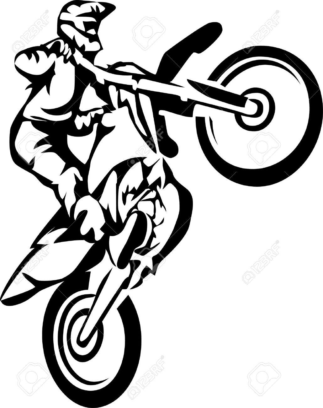 motocross Stock Vector - 17511252