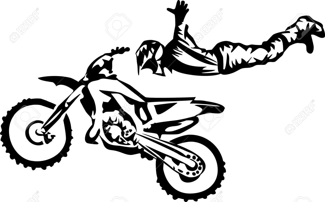 Motocross Freestyle Royalty Free Cliparts Vectors And Stock Illustration Image 17511260