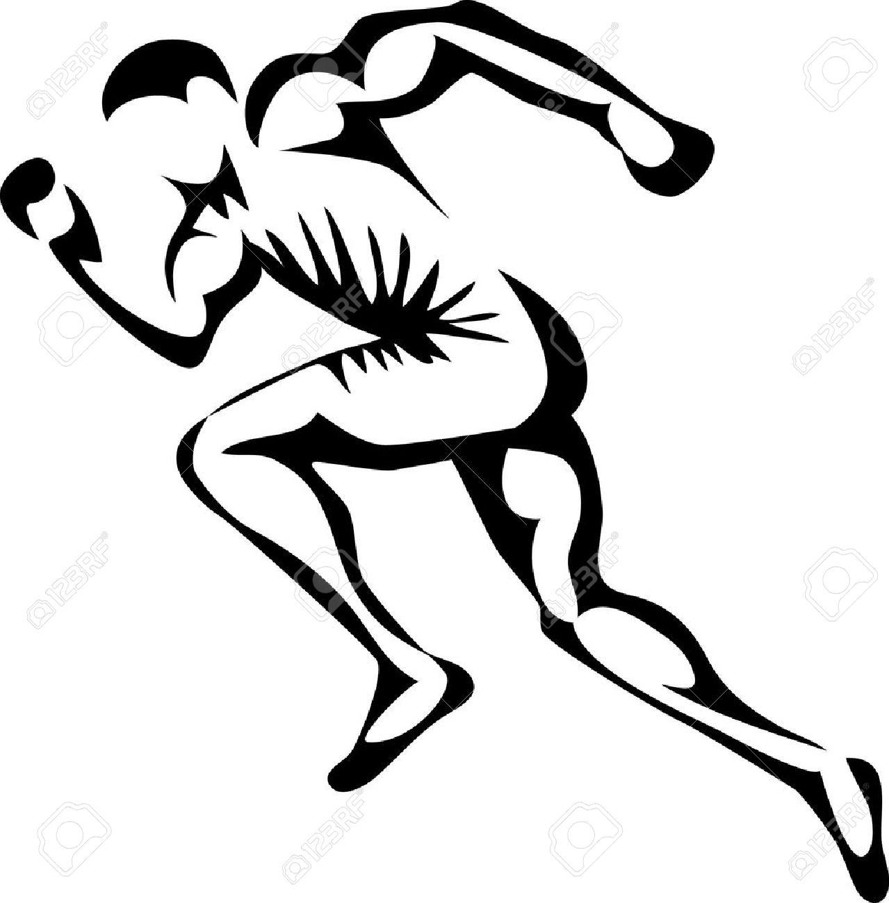 sprinter Stock Vector - 22027914